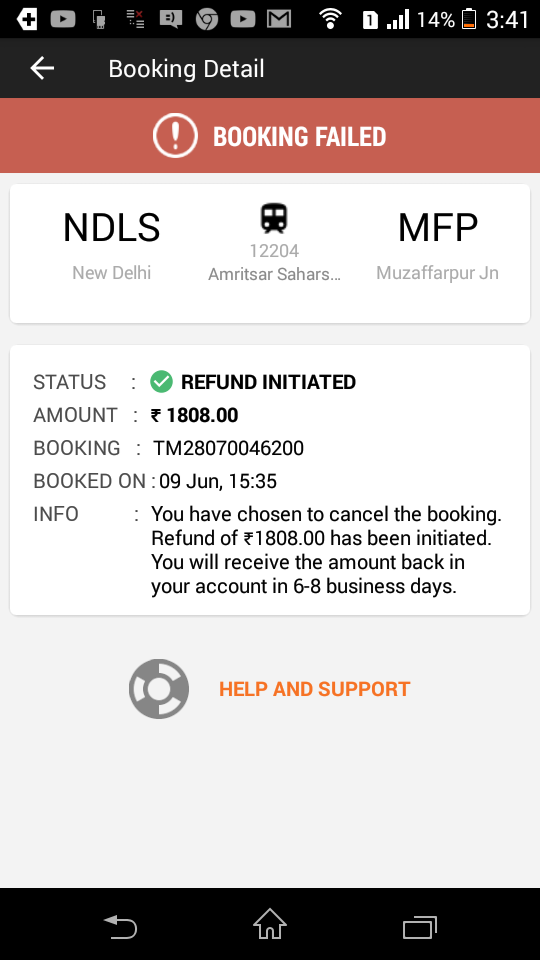 south indian railway reservation seat availability